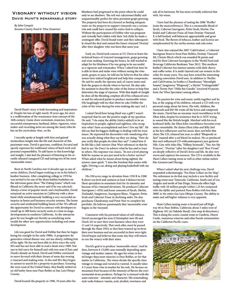 In the News Archives - Hunt Cellars